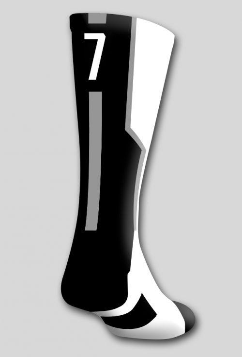 Носок с номером 7 (один носок)