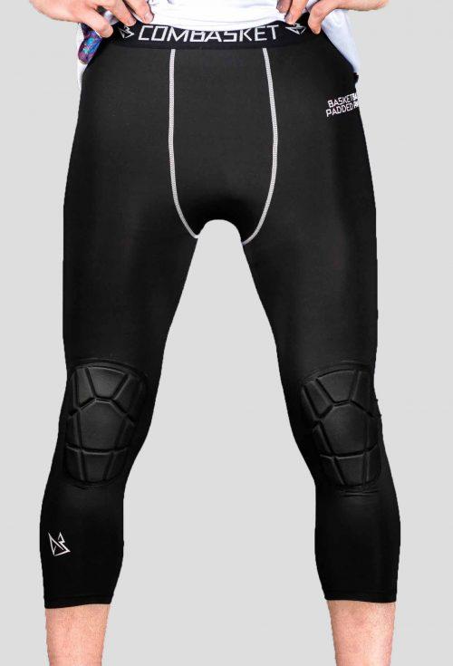 Компрессионные штаны 3/4 с защитой 2.0