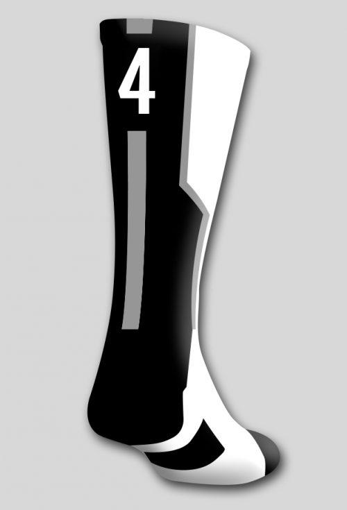 Носок с номером 4 (один носок)