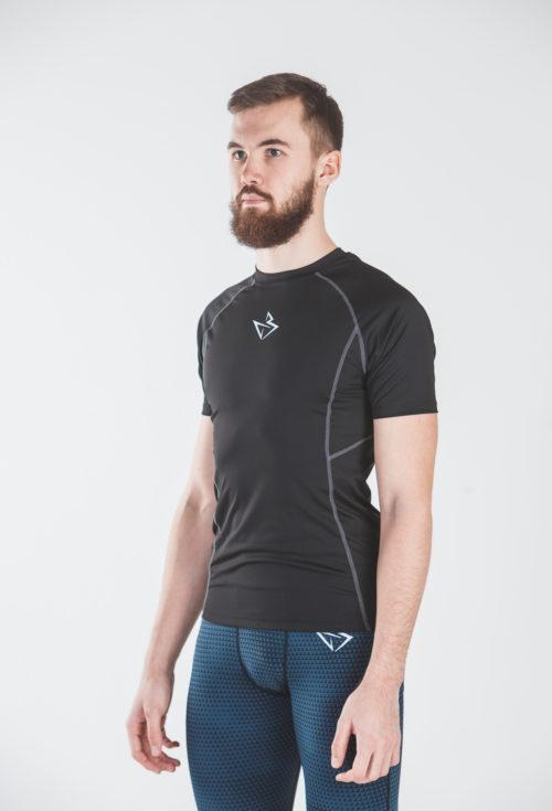 Компрессионная футболка Baller ReglAn black
