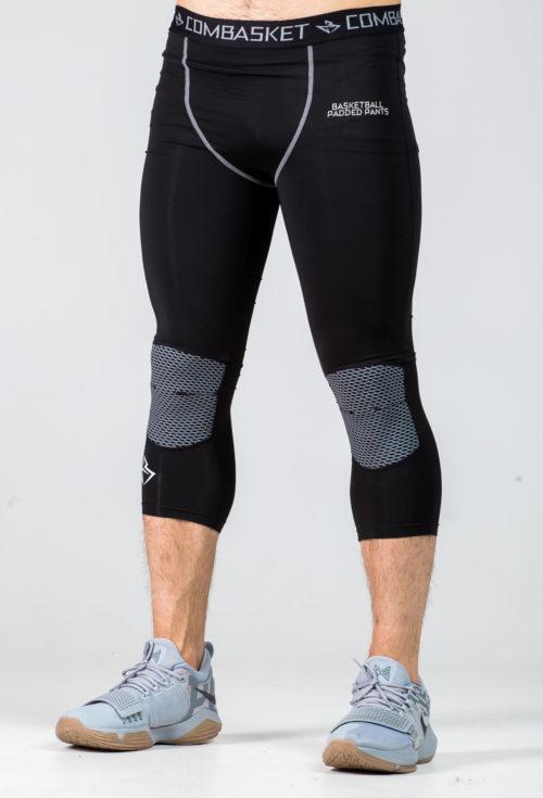 Компрессионные штаны 3/4 с защитой light