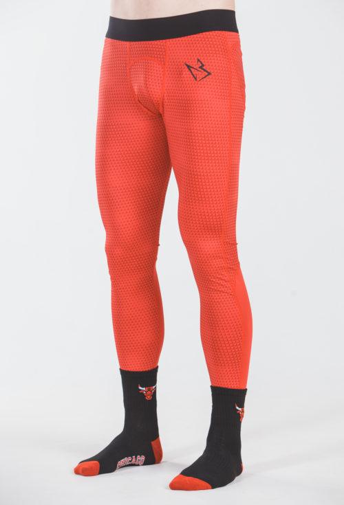 Камуфляжные штаны Baller красный