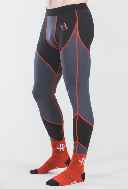 Компрессионные штаны flight RED