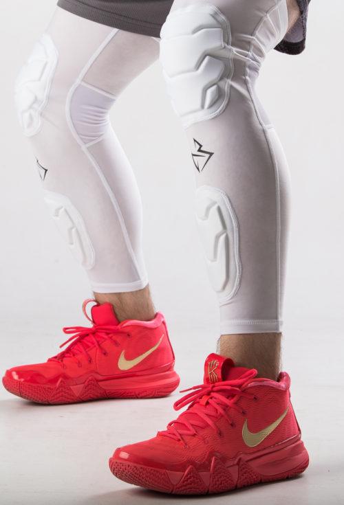 Баскетбольные наколенники с двойной защитой ( пара - 2 шт)